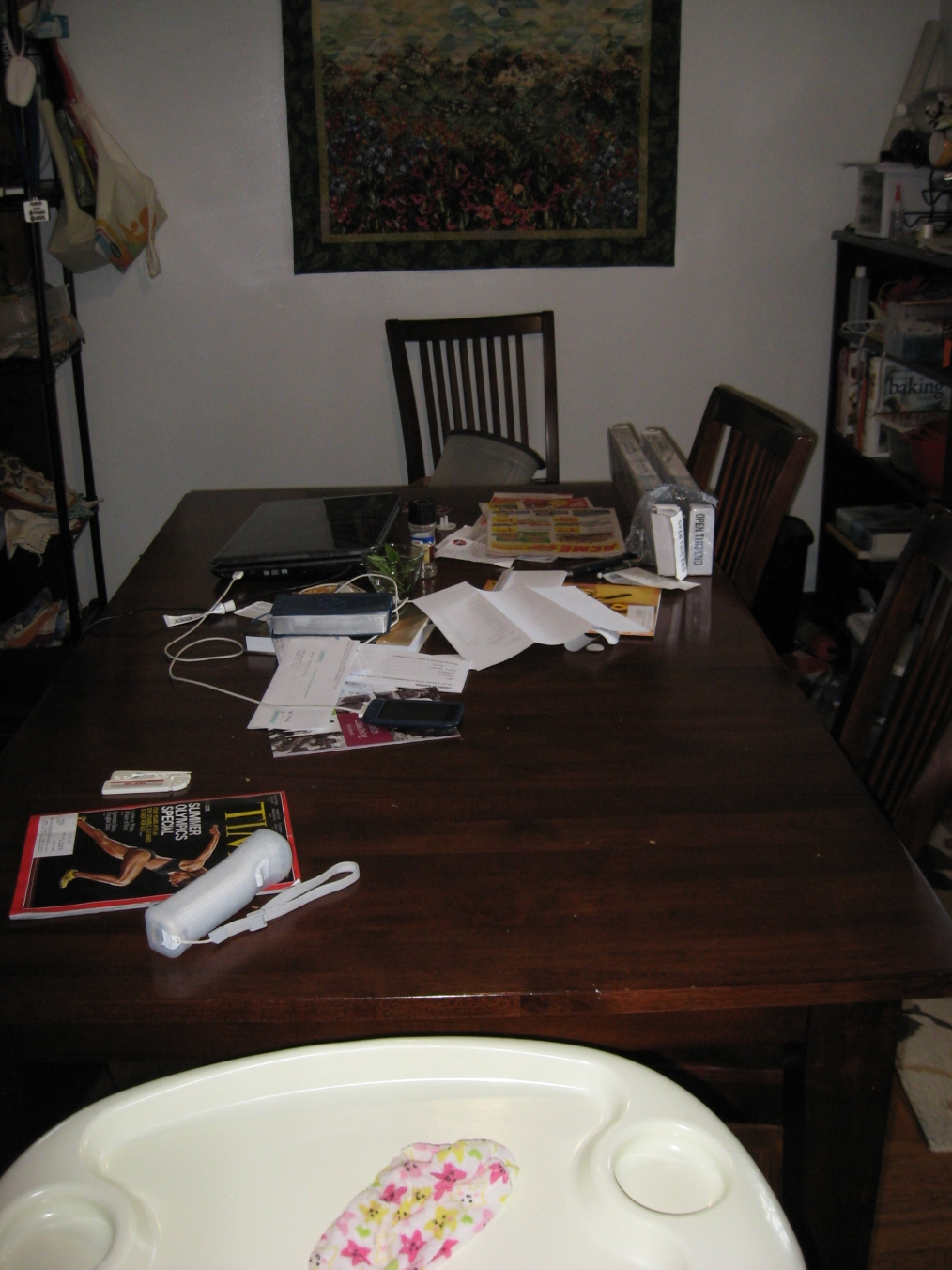 table prior to makeover